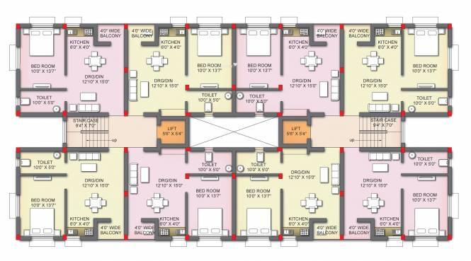Sudarshan Sudarshan Vatika Cluster Plan