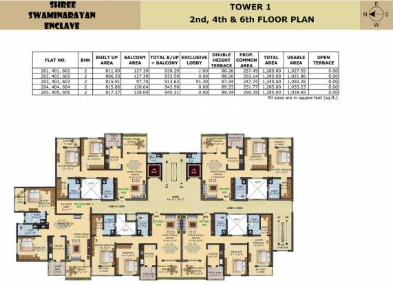 SDPL Shree Swaminarayan Enclave Cluster Plan