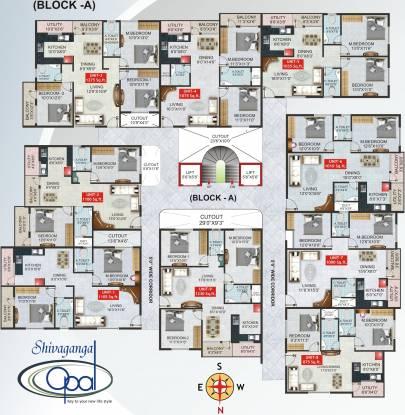 Shivaganga Opal Cluster Plan