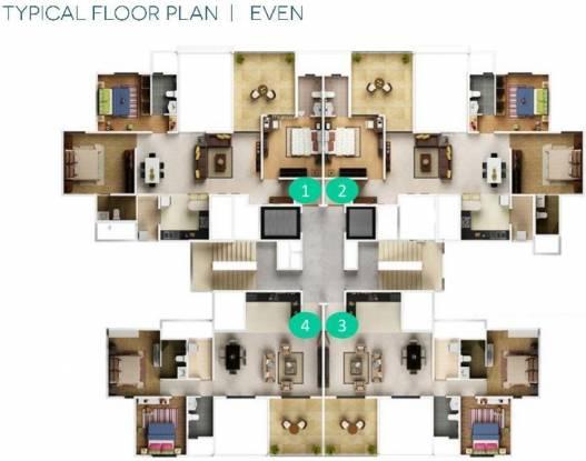 Geras GreensVille Cluster Plan