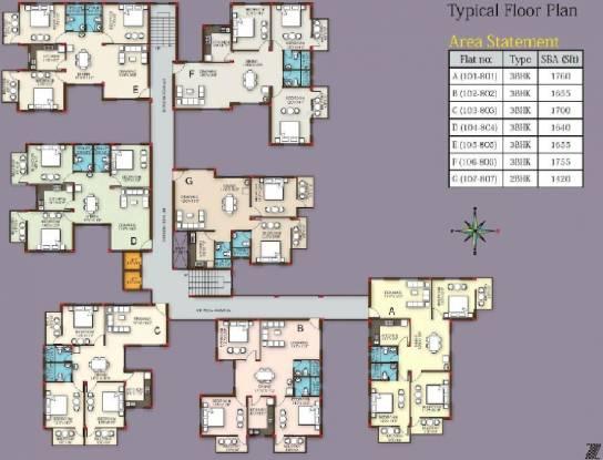 Z estates Highland Residency Cluster Plan