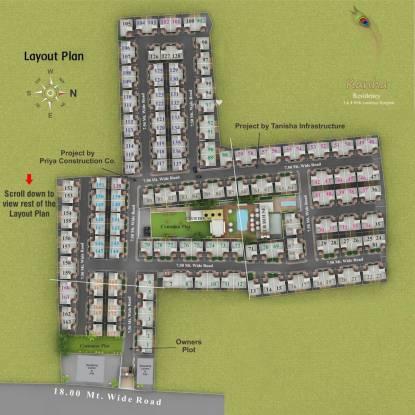 Aatmiya Kanha Residency Layout Plan