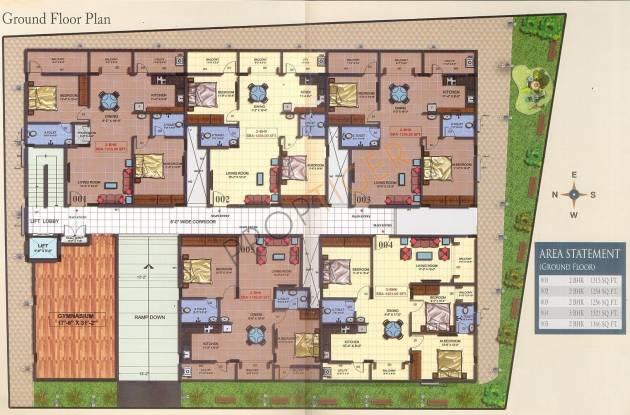 Mahaghar Mithun Sai Paradise Cluster Plan