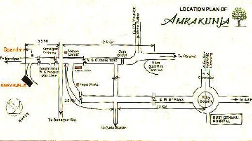 BGA Amrakunja Location Plan