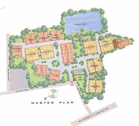 BGA Amrakunja Site Plan