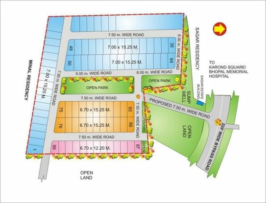 Geet Ganesh Villa Layout Plan