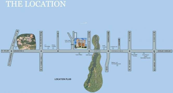 Creations Park Residency Location Plan