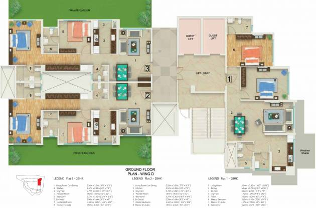 DB Skypark Cluster Plan