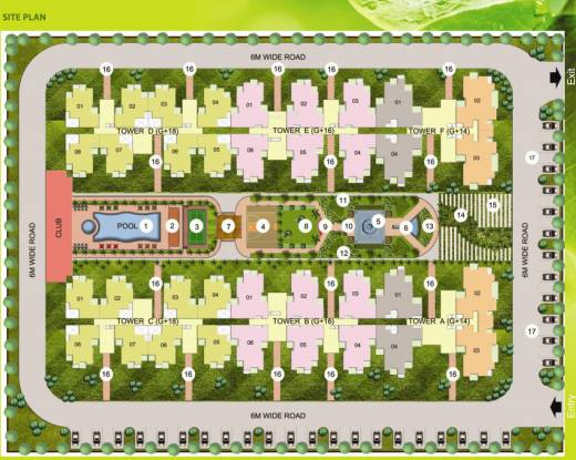 Earthcon Sparsh Site Plan