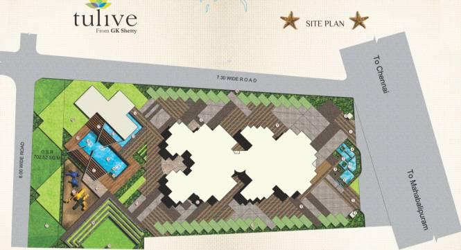 Tulive Ecstasea Site Plan