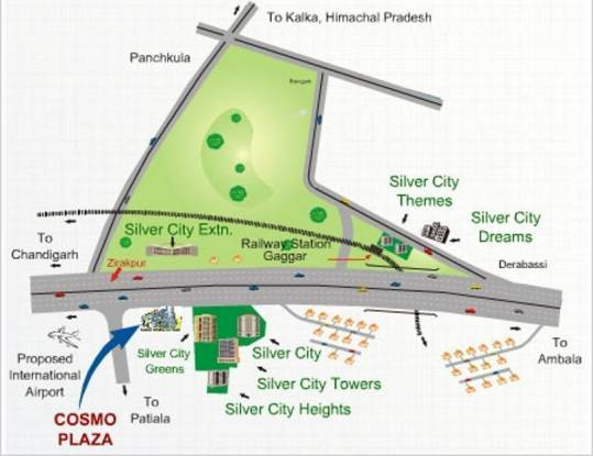 Sliver Silver City Extension Location Plan