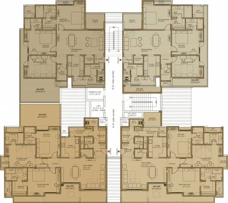 Mahima Elite Cluster Plan