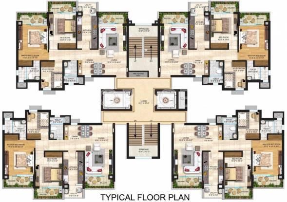 Janta Sky Gardens Cluster Plan
