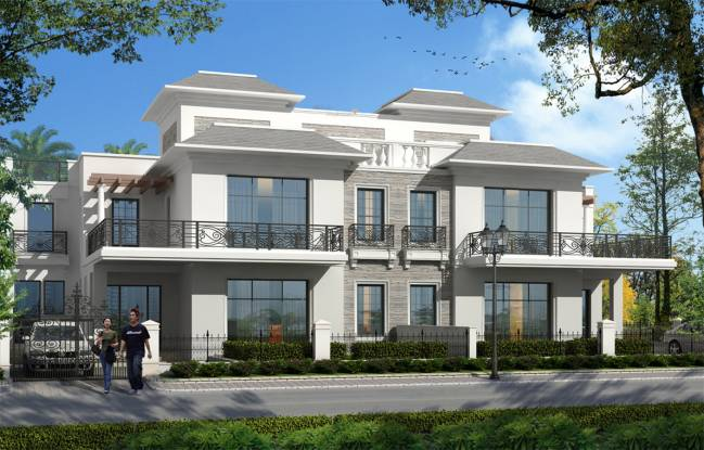 Omaxe Mulberry Villas Elevation