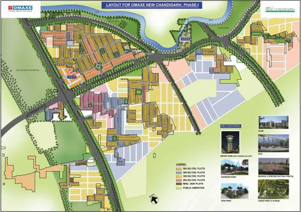 Omaxe Mulberry Villas Master Plan