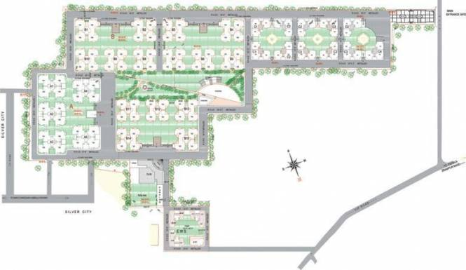 Pearls Nirmal Chhaya Towers Layout Plan