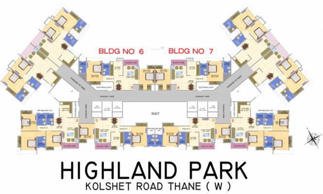 Siddhi Highland Park Cluster Plan