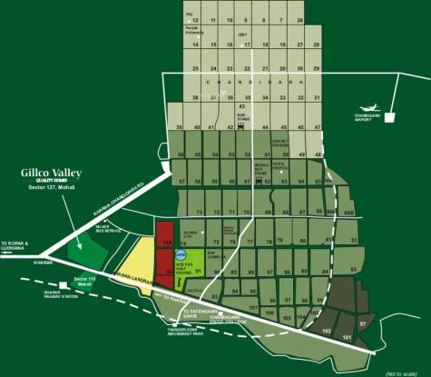 Gillco Independent Floors Location Plan