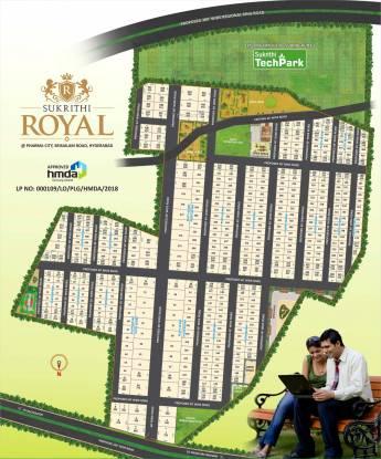 Subhagruha Sukrithi Royal Plots Layout Plan