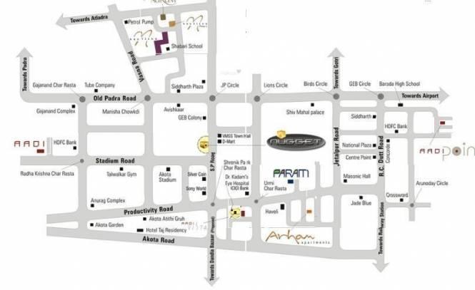 Othello Aadi VIsta Location Plan