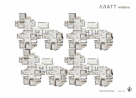 Aratt Milano Cluster Plan