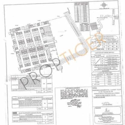 Charigan Jala Residency Layout Plan