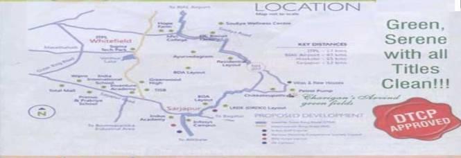 Charigan Charigans Aravind Green Fields Location Plan