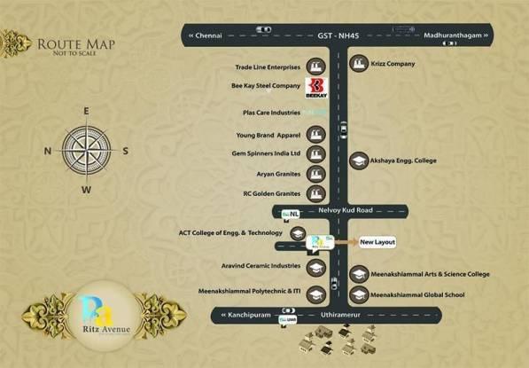 VIP Ritz Avenue Location Plan