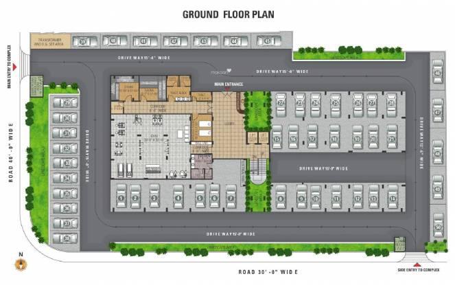 Dhanuka Sunshine Shalimar Cluster Plan