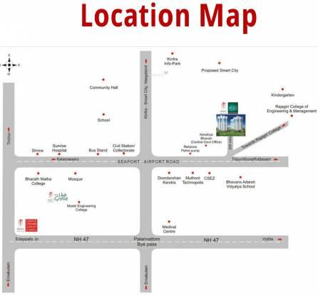 Trinity Mercury Location Plan
