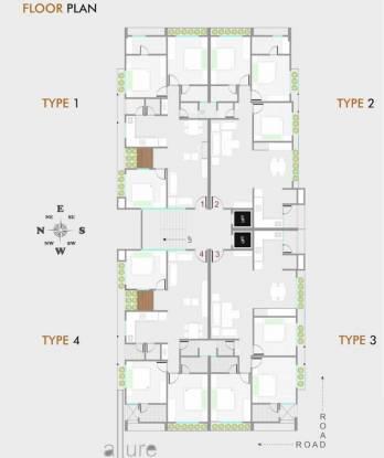 Vishwa Sachet Allure Cluster Plan