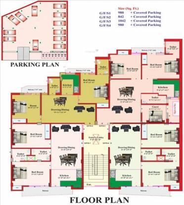 RLB Casa Cluster Plan
