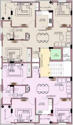 Tirupati Eeti Shubh Cluster Plan