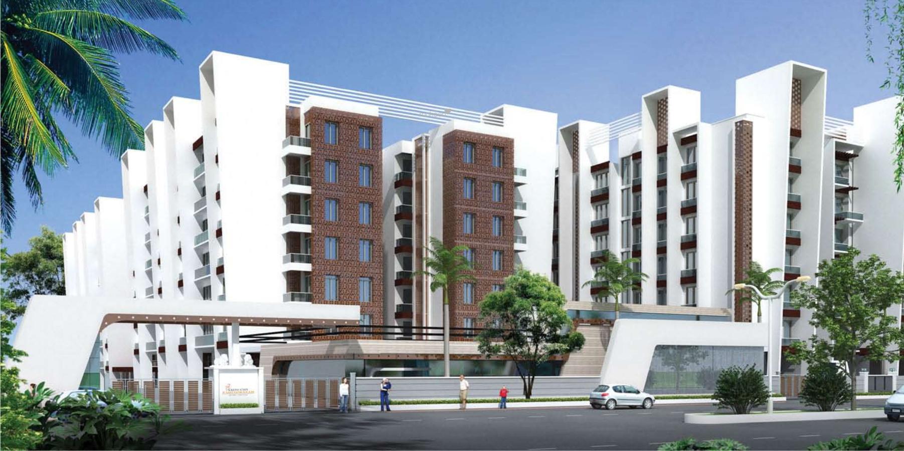 Vastu Rameshwaram City Appartment Elevation
