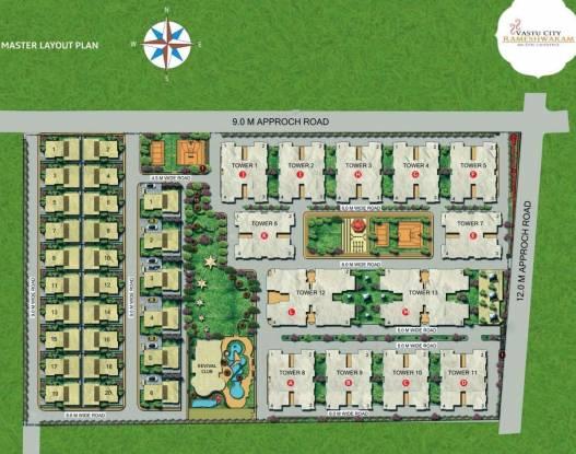 Vastu Rameshwaram City Villa Layout Plan