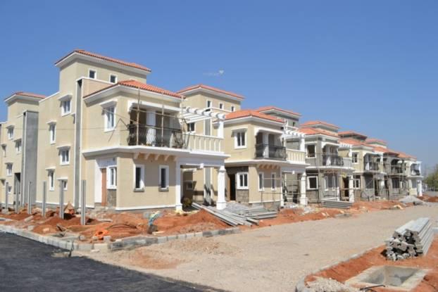 Ramky Gardenia Grove Villas Construction Status