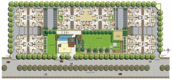 Parsvnath Pratishtha Cluster Plan