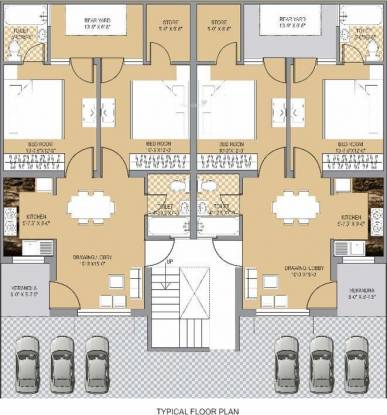 Deeksha KCR Town Cluster Plan
