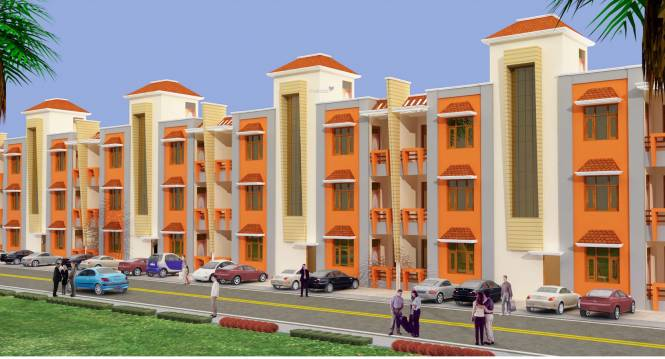 Deeksha KCR Town Elevation