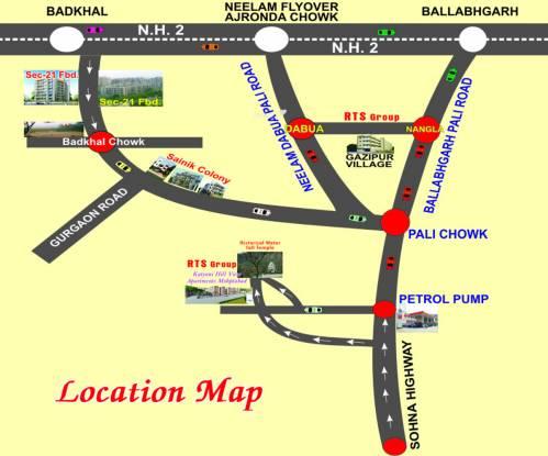 RTS Katyani Hill View Location Plan