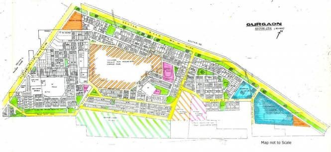 HUDA Plot Sec 23A Master Plan
