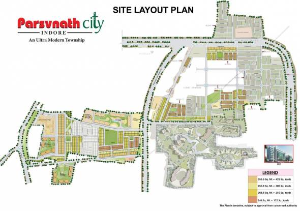 Parsvnath City Layout Plan