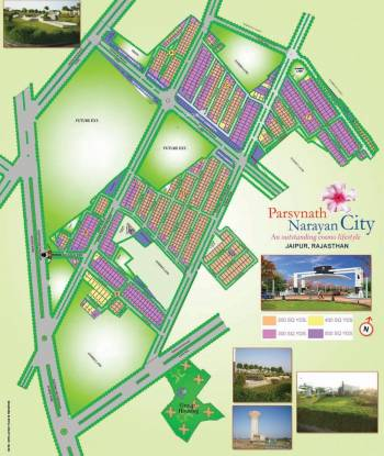 Parsvnath Narayan City Layout Plan