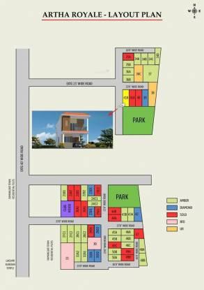 Artha Royale Layout Plan