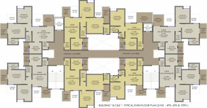 Majestique 38 Park Majestique Cluster Plan