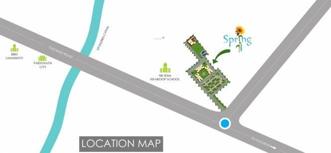 Spring Greens Phase 1 Location Plan