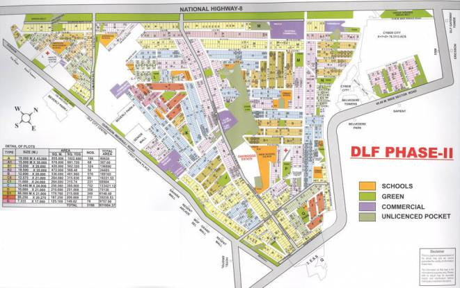 DLF Belvedere Tower Site Plan