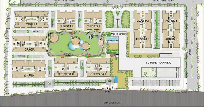 Shri Gautam Real Estate pvt ltd Apollo DB City Site Plan