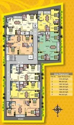 Mithra Raji Residency Cluster Plan