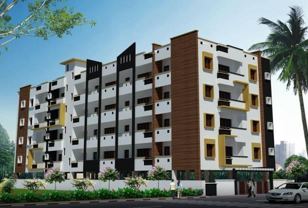 Mithra Raji Residency Elevation